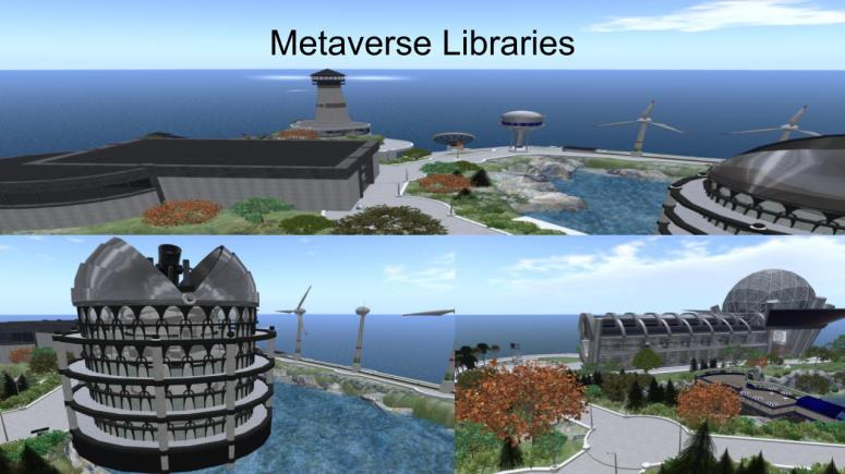 Metaverse Libraries, 2016