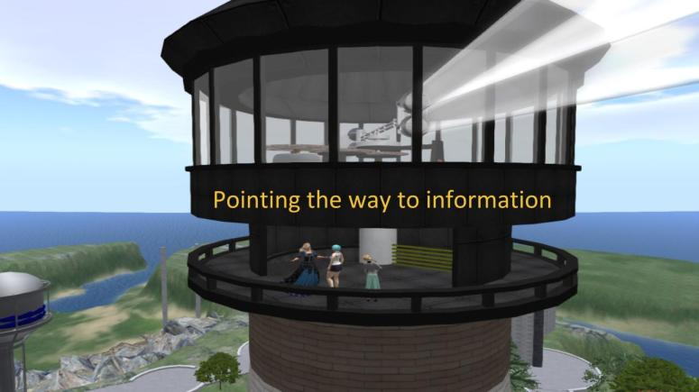 Lighthouse on Metaverse Libraries, 2016